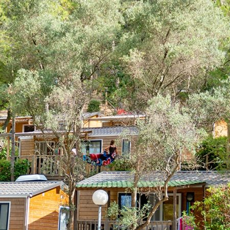 Camping Les Playes : Locatifs