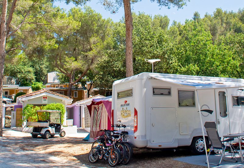 Camping Les Playes : Staanplaats Les Playes