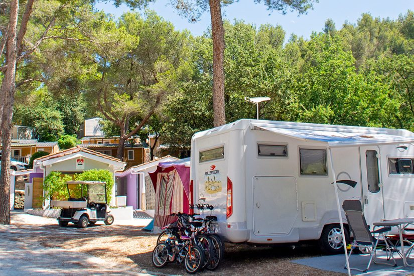 Camping Les Playes : Emplacement Les Playes
