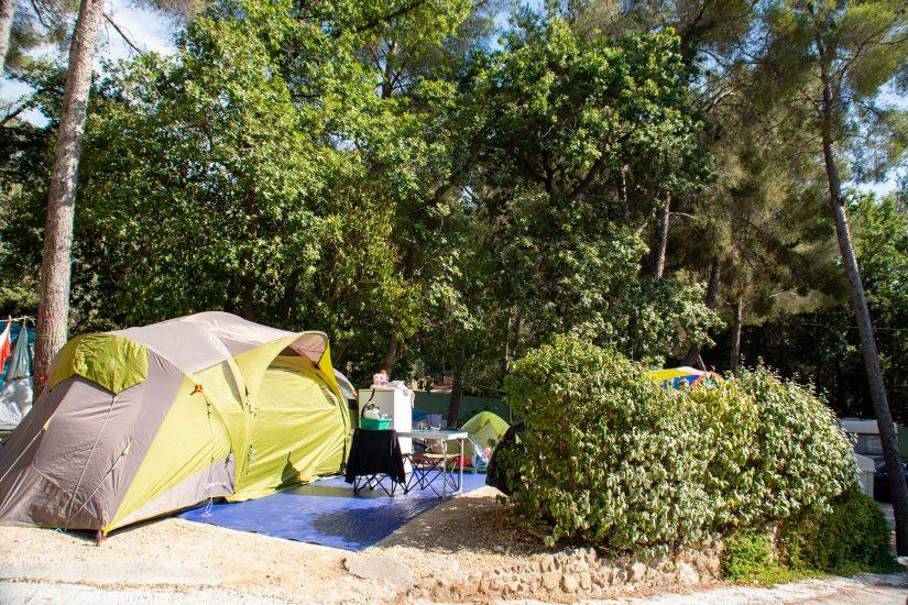 Campingplatz Les Playes: Stellplatz für Zelte