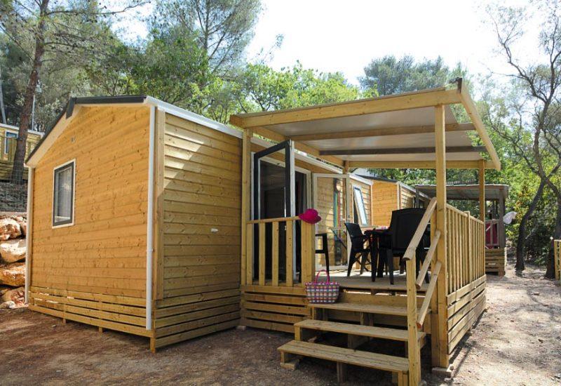 Les Playes Campsite Ext Lavender Mobile Home
