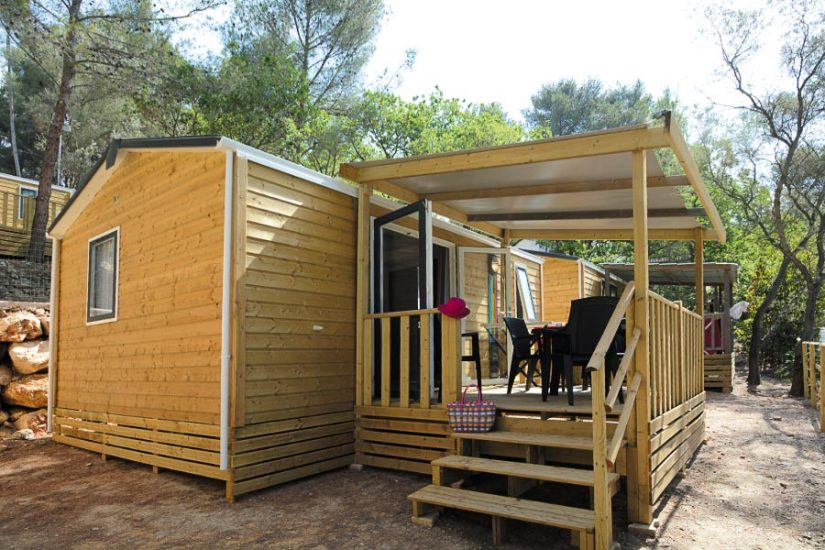 Camping Les Playes : Mobilhome Ext Lavande