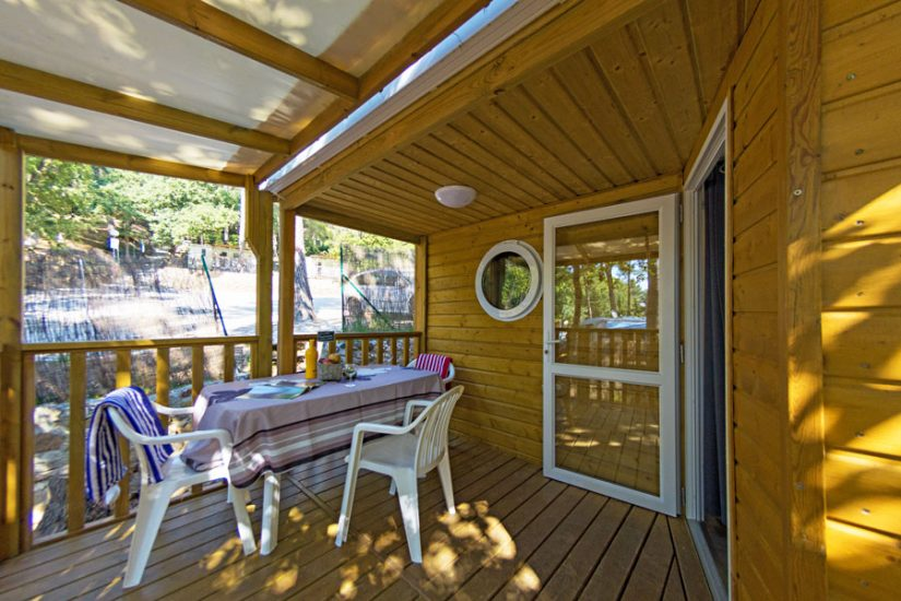 Camping Les Playes : Mobilhome Exterieur Garrigue