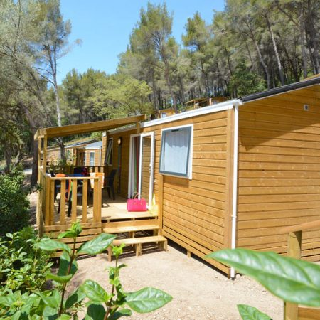 Les Playes Campsite Mimosas Mobile Home Exterior