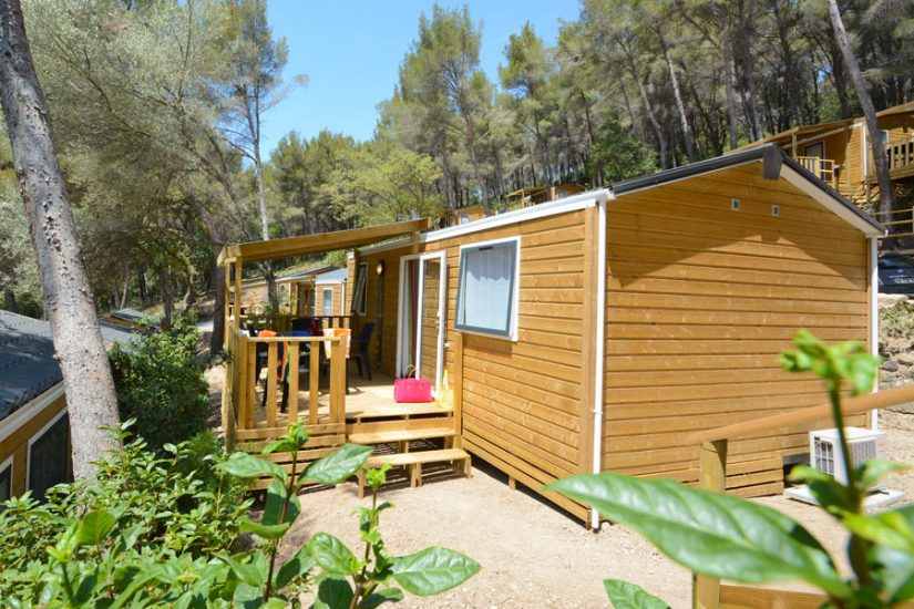 Camping Les Playes : Mobilhome Exterieur Mimosas