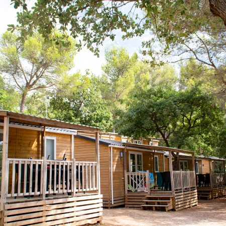 Camping Les Playes : Location Chalet