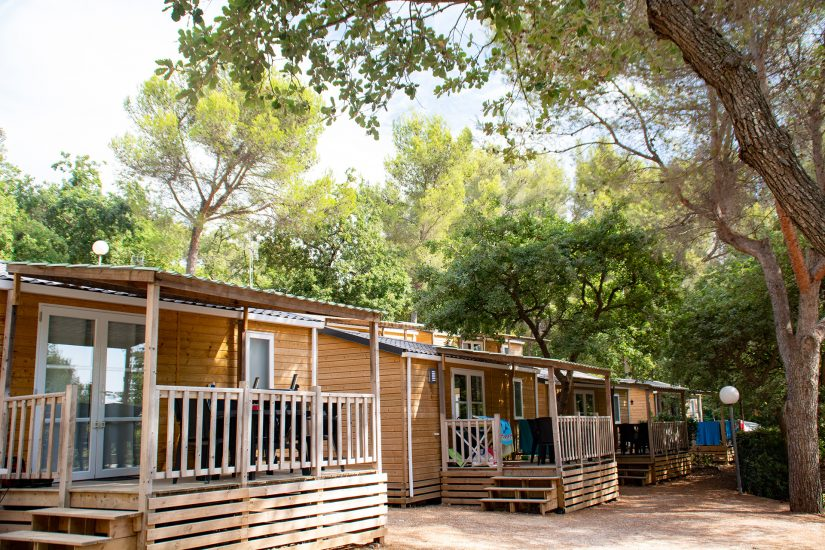 Camping Les Playes : Accommodatie Chalet