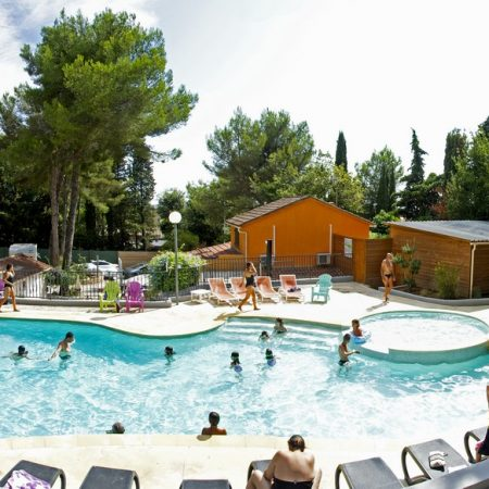 Camping Les Playes : Pano Pisc7